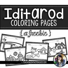 iditarod map coloring pages - photo#7