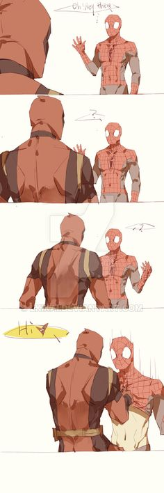 Spideypool177 by LKiKAi