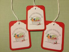 Food Gift Tag From the Garden Of Gift Wrap Garden by StuffDepot, $2.95