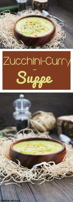 Zutaten 700g Zucchini 1/2 Stange Lauch 1 große Zwiebel 2 TL Currypulver ca. 350-400 ml Gemüsebrühe 125g Sahne Salz und Pfeffer Olivenöl