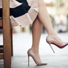 I'm in search of the perfect nude heel and this is IT!!!