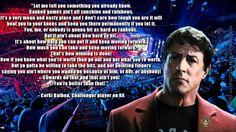 Corki Balboa Inspirational Speech