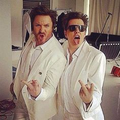 This may be my favorite picture ever of John & Simon.