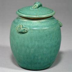 Hand Thrown Stoneware Pet Urn Pottery Wheel Thrown by thurbart, $84.95
