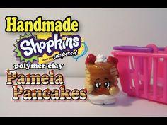 How To Make Shopkins: Pamela Pancakes Tutorial! - YouTube
