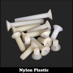 5.60$  Buy now - http://ali02w.shopchina.info/go.php?t=32743986211 - 30pcs M6 M6*15 Nylon Plastic Bolt White Insulating Cross Recessed Flat Countersunk Head Screw 5.60$ #buyonlinewebsite