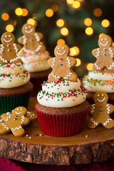 Indulge a little this holiday season with creamy cupcakes likethis one. Get the recipe at Cooking Classy.