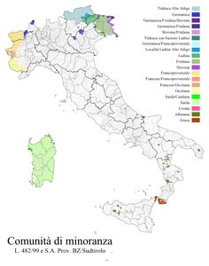 Minoranze linguistiche d'Italia - Wikipedia