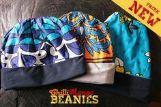 Afri print beanie :)