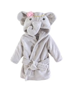 Make bath time more fun for your little one with the Little Treasures Elephant Plush Bathrobe. Made of super soft plush polyester, this cute bathrobe features a cute elephant character and pink accents. Toddler Girl Outfits, Baby & Toddler Clothing, Toddler Fashion, Kids Outfits, Baby Outfits, Infant Clothing, Kids Clothing, Maternity Outfits, Girl Toddler