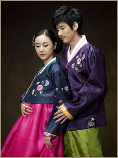Hanbok Couple