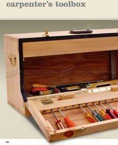 Carpenter's Toolbox Plans - Workshop Solutions