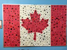 A Remembrance Day art project that I did with the entire school to thank our Canadian soldiers. From Special Ed. Remembrance Day Activities, Remembrance Day Art, Toddler Crafts, Crafts For Kids, Arts And Crafts, Art Bulletin Boards, November Crafts, Canadian Soldiers, Art Projects