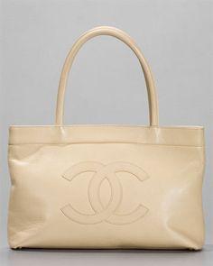 Chanel Vanilla Caviar Leather Executive Tote Bag