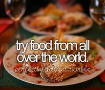 Inspiring picture before i die, bucket list, food. Resolution: 500x320 px. Find the picture to your taste!