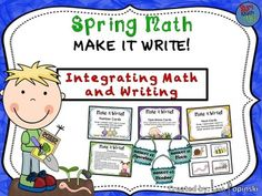 Integrate math and writing by focusing on the process of writing math word problems. Before solving test formatted problems, students need experience writing their own. Students draw a noun card(s), a number card(s), and an operation card(s). They use the cards drawn to write their own word problem within the parameters that you set.