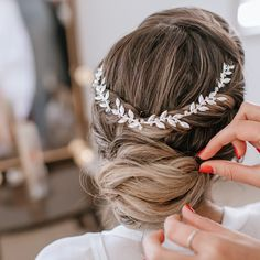 Gold Leaf Headband, Bride Headband, Wedding Headband, Forehead Headband, Bridal Hair Chain, Gold Tiara, Different Hairstyles, Wedding Hair Accessories, Bridal Headpieces
