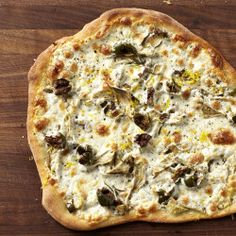 Roman-Style Pizza with Roasted Cherry Tomatoes and Cheese Recipe - Bon Appétit