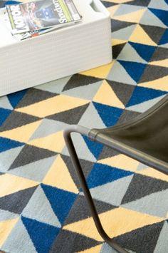 geometric rug  www.kateabdou.com