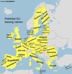 Potential EU leaving names.