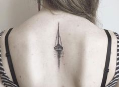 sailboat / water / reflection / simple lines / back tat
