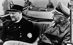 - Norwegian police apologise for deporting Jews (L-R): Vidkun Quisling, Norwegian diplomat and fascist leader with Heinrich Himmler head of the SS on a trip to Berlin. Norwegian Army, Military Officer, Today In History, The Third Reich, Scandinavian Countries, World War Two, Historical Photos, Ww2, Norway
