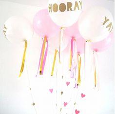 Balonnen met lint