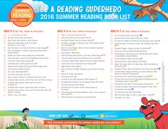 Presenting the 2016 Summer Reading Book List! {PAGE So many fun titles to choose from! Click through to learn more about the Scholastic Summer Reading Challenge. Reading Programs For Kids, Online Reading Programs, Library Programs, Online Programs, Kids Reading, Library Lessons, Library Ideas, Reading Projects, End Of School Year