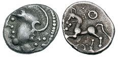 Gaul, Lingones Celtic coin