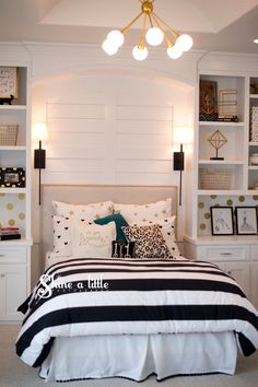 40 Beautiful Teenage Girls\u0027 Bedroom Designs For The Home Girlthe  Peacock Door Parade Of