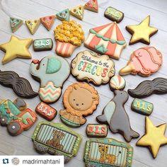 Circus Cookies // madrimahtani