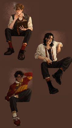 Marauders Fan Art, Harry Potter Marauders, Marauders Era, Harry Potter Fandom, Harry Potter World, Harry Potter Artwork, Harry Potter Drawings, Harry Potter Images, Film Anime