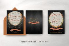 Autumn Floral Wedding Package - Invitations - 11