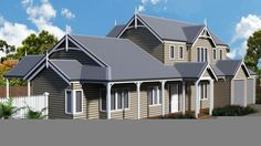 Gisborne House - Storybook Designer Homes