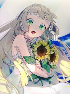 pokemon sun&moon, lillie