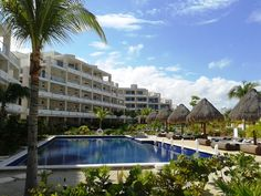 Swimming pool day! let's have a dip :D The Beloved Hotel Playa Mujeres, Cancun.
