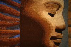 Sidsel Colbjørnsen tapestry Khmer | Flickr - Photo Sharing!