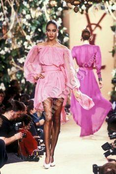 Yves Saint Laurent | Spring 1988
