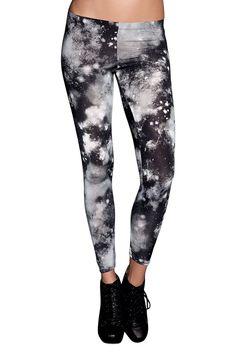 Black Galaxy Leggings