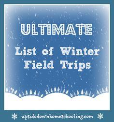 ultimate list of winter field trips