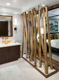 separation de pieces en mdf laque et panneaux bambou le. Black Bedroom Furniture Sets. Home Design Ideas