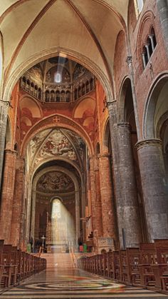 Piacenza Cathedral ~ built between 1122 -1133, and is one of the most valuable examples of a Romanesque cathedral in Italy