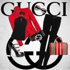 """""""GucciGlam"""" by glamchicwall on Polyvore"""