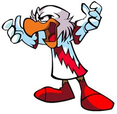 Emil Eagle. An evil genius and scientist. His intelligence rivals that of Gyro Gearloose. In the comics he is always trying to steal Gyro's inventions or assist other bad guys. I could easily see him teaming up with villains like the Beagle Boys and Flintheart Glomgold. I think he would make a great supporting villain.