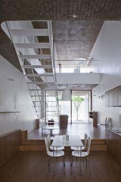 ANH House by Sanuki + Nishizawa #staircases