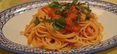 o Spaguetti alla Pomodora