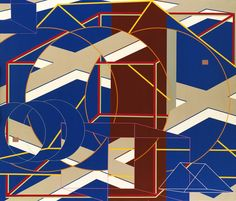 C-B-1 Artist: Al Held Completion Date: 1978 Style: Op Art Genre: abstract painting