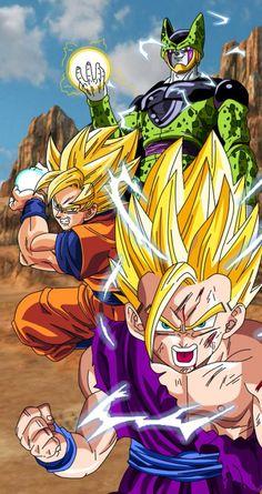 Dragon Ball Super Manga, Episode and Spoilers Dragon Ball Gt, Dragon Ball Z Shirt, San Gohan, Goku And Gohan, Gohan Vs Cell, Mega Anime, Manga Dragon, Akira, Anime Merchandise