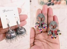 Jewelryclub - Shop from the latest collection of Earrings for women & girls online. Buy studs, ear cuff, drop & more Earrings at best price, COD. Metal Jewelry, Jewelry Art, Diamond Jewelry, Silver Jewelry, Jewelry Design, Women's Earrings, Crochet Earrings, Buy Jewellery Online, Girl Online