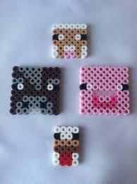 Αποτέλεσμα εικόνας για minecraft hama beads perler beads